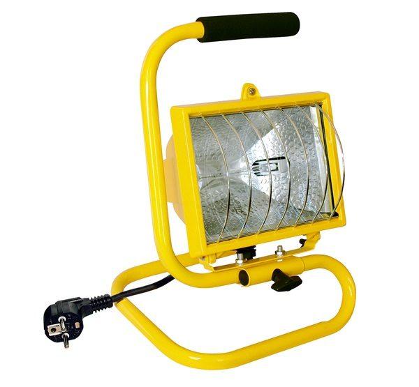 HOME FLH 500/YE hordozható reflektor sárga 400W