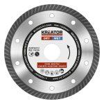 Kreator gyémánt vágótárcsa 125 mm Expert Turbo KRT085101