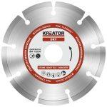 Kreator gyémánt vágótárcsa 125 mm Prémium KRT082102