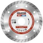 Kreator gyémánt vágótárcsa 125 mm Prémium Turbo KRT083101