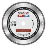 Kreator gyémánt vágótárcsa 230 mm Expert Turbo KRT085102