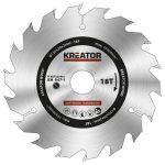 Kreator körfűrészlap 130 mm 18 fog fa  KRT020402
