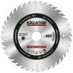 Kreator körfűrészlap 140 mm 40 fog fa  KRT020405