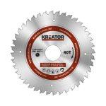 Kreator körfűrészlap 160 mm 40 fog MULTI-USE  KRT020502