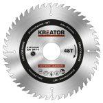 Kreator körfűrészlap 160 mm 48 fog fa  KRT020409