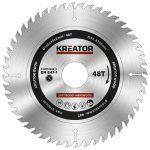 Kreator körfűrészlap 165 mm 48 fog fa  KRT020411