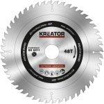 Kreator körfűrészlap 210 mm 48 fog fa  KRT020421