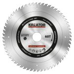 Kreator körfűrészlap 216 mm 60 fog fa  KRT020424