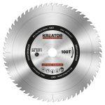 Kreator körfűrészlap 315 mm 100 fog fa  KRT020433