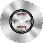 Kreator körfűrészlap 315 mm 60 fog fa  KRT020432