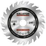 Kreator körfűrészlap 89 mm 24 fog fa  KRT020401