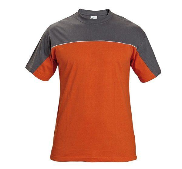 a05cf004e1 Póló szürke-narancssárga DESMAN L Barkácshiper webáruház