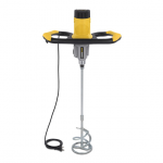 PowerPlus sárga beton/festékkeverő 1600W POWX084