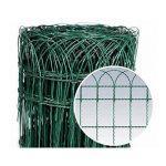 STR mini kerítés 650 mm/ 25 fm zöld bevonatos