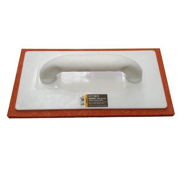 STR Műanyag simító 280x140mm műanyag, narancssárga szivacsos