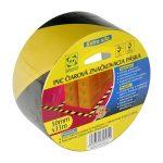 STR Figyelmeztető szalag PVC riasztó 75mm L-33m