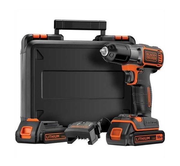 Black & Decker ASD184KB-QW akkus fúró-csavarozó autosense/autoselect 18V+koffer ¤