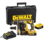 Dewalt DCH274P2-QW akkus kefe nélküli SDS-PLUS fúró-vésőkalapács készletben 18V XR+ koffer