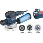 Bosch kék excentercsiszoló GEX 125-150 AVE 400W 150mm ( 060137B101 )