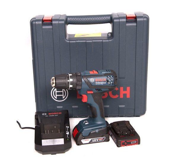 Bosch GSB 18-2-LI Plus akkus fúrócsavarozó 2×2,0Ah 18V+koffer ( 06019E7120 )