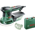 Bosch zöld PEX 300 AE excentercsiszoló 270W 125mm kofferben ( 06033A3020 )