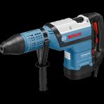 Bosch kék PS GBH 12-52D+4AS ( CC ) SDS-Max fúrókalapács 1700W+koffer ( 0611266100 )