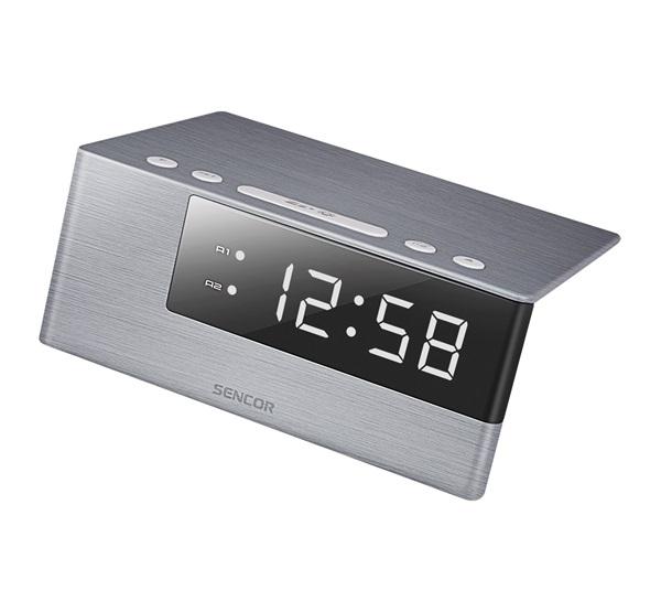 Sencor SDC 4600 W digitális ébresztőóra ezüst 90225bd272