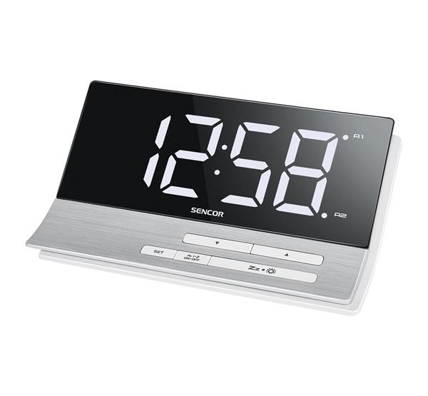 Sencor SDC 5100 digitális ébresztőóra USB töltővel ezüst cff5cee3d1