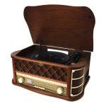 Sencor STT 016 sztereo lemezjátszó CD/MP3/magnó deck