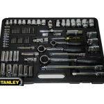 """Stanley 1-87-193 dugókulcs készlet 1/4"""", 3/8"""",  1/2"""" 75 részes"""