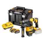 Dewalt DCH333X2-QW 54V XR Flexvolt SDS-Plus fúrókalapács 2x9,0Ah+koffer