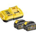 Dewalt DCB118T2-QW akkumlátor+töltő (2xDCB546 6,0Ah akku + DCB118 töltő)