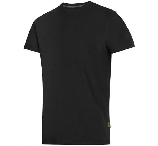 Snickers Classic férfi póló fekete 005   M Barkácshiper webáruház 1d23590424