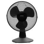 Sencor SFE 3011BK Asztali ventilátor fekete 30cm 35W ¤