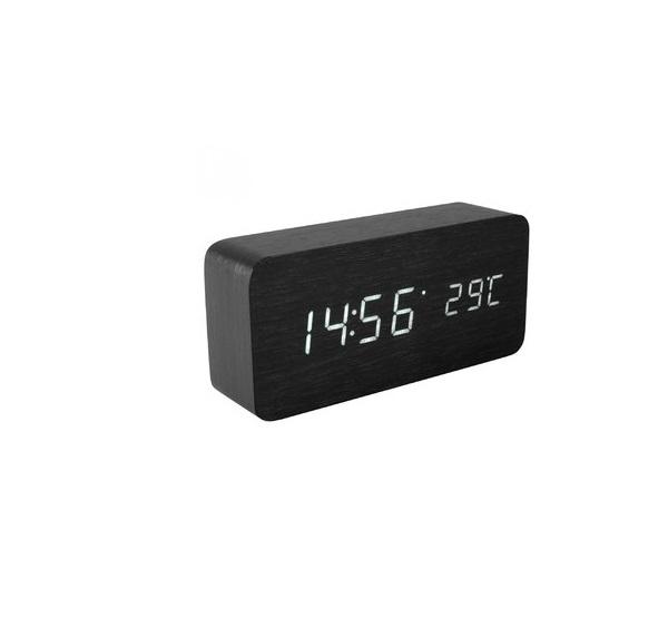 HOME HC 11 ébresztőóra vezetéknélküli külső és belső hőmérővel ... 39b3d34ce2