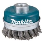 Makita D-24153 fonott drótkefe csésze M14 D60 18