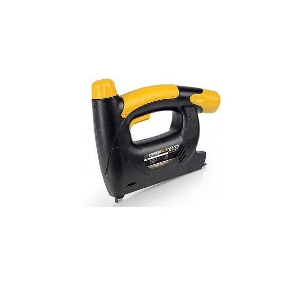 PowerPlus sárga akkus tűzőgép 4,8 POWX137