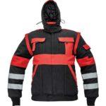 Kabát fekete/piros MAX WINTER RFLX 58 @@@