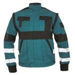 Kabát zöld-fekete MAX REFLEX 54  @
