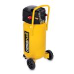 PowerPlus sárga kompresszor 1500W, 50L, olajmentes POWX1750