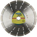 Klingspor gyémánt 230X2,6x22,23   DT900K beton