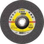 Klingspor tisztítókorong 125x6 alumínium 46N