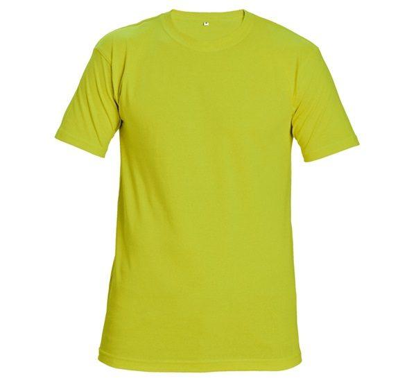 Póló sárga TEESTA HV FLUORESCENT  4XL  @
