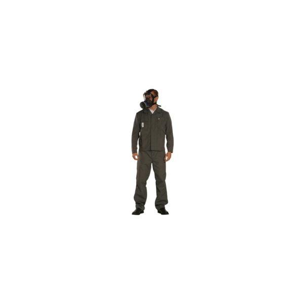 Munkavédelmi öltöny saválló derekas/szürke 44