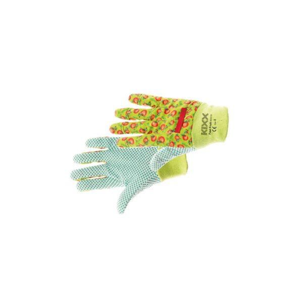 Védőkesztyű FAST FRUIT textil zöld  8  @