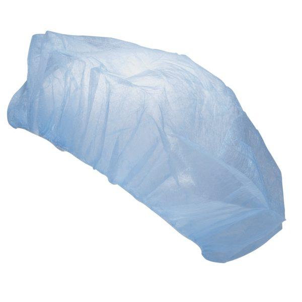 Védősapka egyszer használatos kék   @