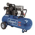 Scheppach HC 550 TC olajkenésű háromhengeres ékszíjas kompresszor 2200W (5906136901)