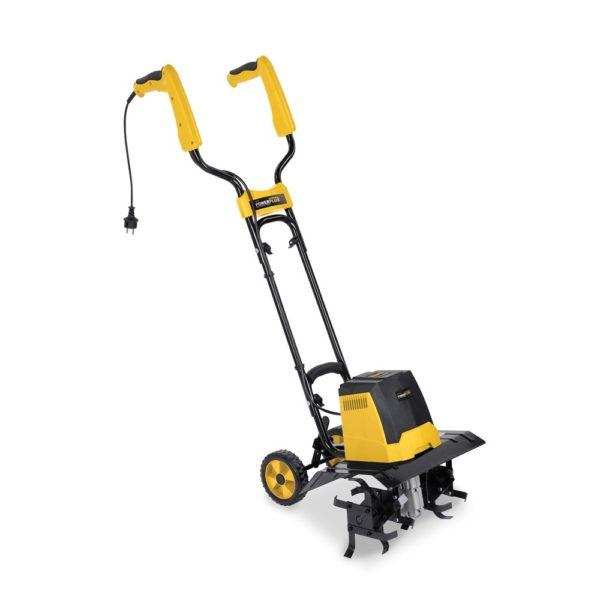 PowerPlus sárga elektromos földművelő gép, cultivator 1200W POWXG7201